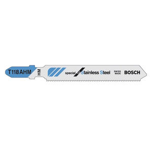 2608663854 博世附件 曲线锯条(3支装) 不锈钢切割专用型 T118AHM