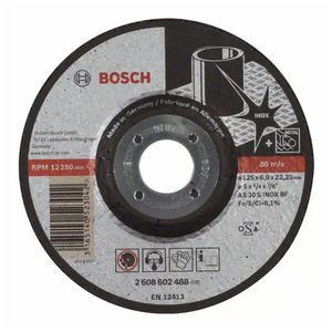 博世附件 海外系列磨切片 德国系列不锈钢磨片125x6x22.23mm 2608602488