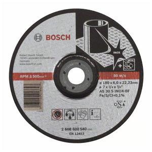 博世附件 海外系列磨切片 德国系列不锈钢磨片180x6x22.23mm 2608600540