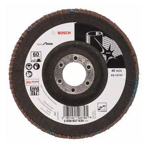 2608607639 博世附件 千叶砂磨轮 不锈钢顶级型 125mm60目