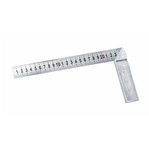 130125 长城精工 钢角尺 250mm(1A系列) 1盒6.0把 1箱60.0把