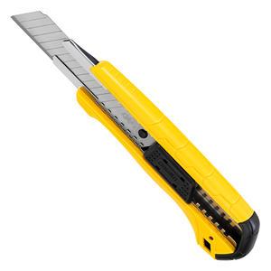 DL003 得力 塑柄美工刀18mm自锁 SK5 1箱300.0把 1盒25.0把