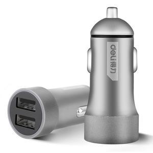 DL8051 得力 车载USB充电器3.6A(MAX)★ 1箱36.0只 1盒12.0只