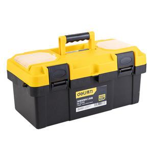 DL-TC270 得力 加强型塑料工具箱17寸 1箱9.0只