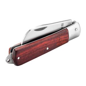 03110 世达 弯刃木柄电工刀70MM 1箱40.0把 1盒20.0把