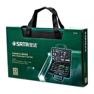 03780 世达 23件基本电工维修组套 1盒6.0套 1箱6.0套