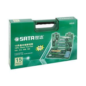 06008 世达 15件基本维修组套 1盒4.0套 1箱4.0套