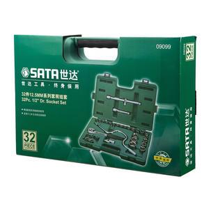 09099 世达 32件12.5MM系列套筒组套 1盒4.0套 1箱4.0套