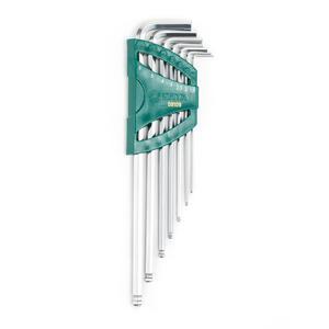 09109 世达 7件特长球头内六角扳手组套 1盒12.0套 1箱72.0套