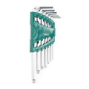 09113 世达 7件加长球头内六角扳手组套 1盒12.0套 1箱72.0套