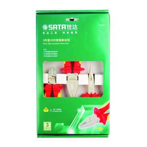 09261 世达 3件VDE绝缘耐压钳组套 1箱6.0套 1盒1.0套