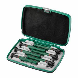 09311 世达 6件一字微型螺丝批组套 1盒6.0套 1箱24.0套