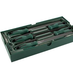 09910 世达 工具托组套-8件锉刀 1盒4.0套 1箱4.0套