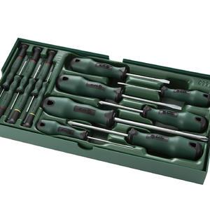 09913 世达 工具托组套-13件螺丝批 1盒4.0套 1箱4.0套