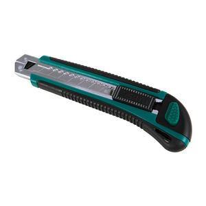 93428 世达 橡塑柄推钮美工刀8节18x100MM 1盒12.0把 1箱72.0把