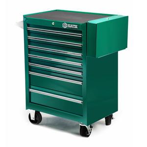 95107 世达 七抽屉带轮工具车680x458x860MM 1箱1.0个 1盒1.0个