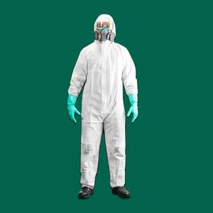 BF0110 世达PPE 透气膜防尘防静电防化服XL 1箱50.0件 1盒50.0件
