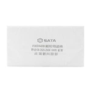 FH0409 世达PPE 防尘滤棉(大) 1箱600.0个 1盒600.0个