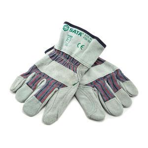 FS0102 世达PPE 经济型半皮手套XL 1盒12.0双 1箱36.0双