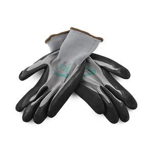 FS0601 世达PPE 双层丁腈磨砂掌浸手套8' 1箱72.0双 1盒72.0双