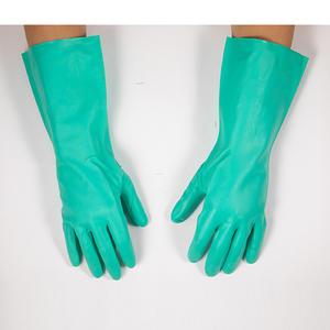 SF0402-7 世达PPE 丁腈植绒里防化手套 7