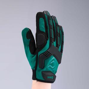 SF0903 世达PPE 世达经典绿机械型防冲击手套 1盒12.0个 1箱72.0个